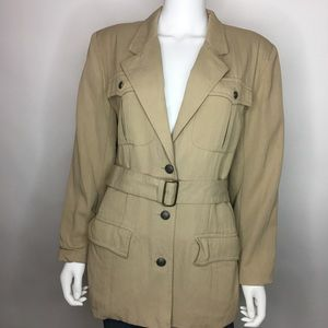 Banana Republic Safari & Travel Sz M Safari Jacket